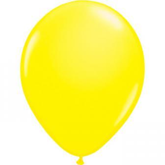 UV Leucht-Luftballons 8er Pack-neongelb