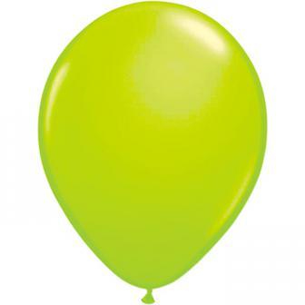 UV Leucht-Luftballons 8er Pack-neongrün