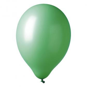 Einfarbige Luftballons 12er Pack-grün