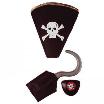 """Accessoire-Set """"Pirat"""" 3-tlg."""