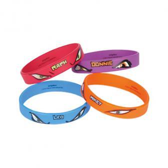 """Armbänder """"Ninja Turtles"""" 4er Pack"""