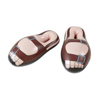 Aufblasbare Riesen-Sandalen 55 cm