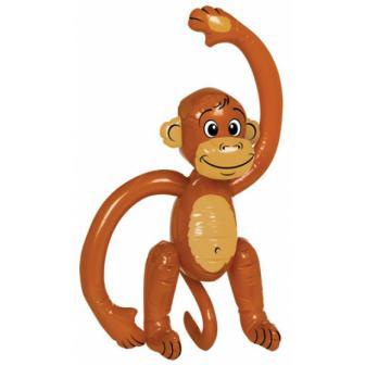 Aufblasbarer Affe 50 cm
