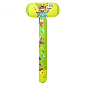 """Aufblasbarer Hammer """"Clown"""" 96 cm"""