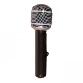 Aufblasbares Mikrofon 30 cm