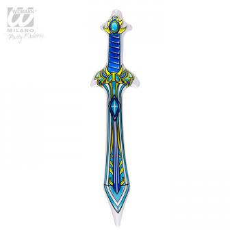 """Aufblasbares Schwert """"Galaxie"""" 70 cm"""