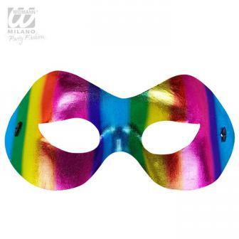 """Augenmaske """"Leuchtende Regenbogenfarben"""""""