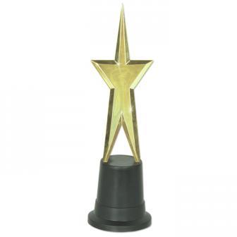 "Awards Night-Trophäe ""Goldener Stern"" 23 cm"