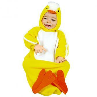 "Baby-Kostüm ""Küken-Strampler"" 2-tlg."