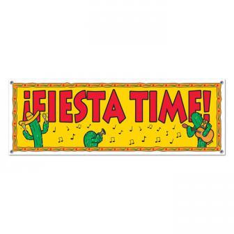 """Banner """"Mexikanische Fiesta"""" 150 cm"""