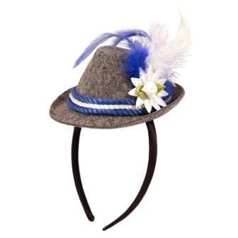 Bayrischer Mini-Hut mit Haarreif