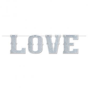 """Buchstaben-Girlande """"Love"""" 1,83 m"""