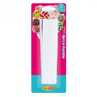 Cake Pop & Lolly Sticks 24er Pack