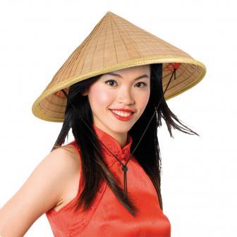Chinesenhut Bambus-Style