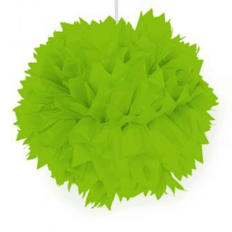"""Deckendeko """"Pom-Pom aus Wabenpapier"""" 30 cm-grün"""