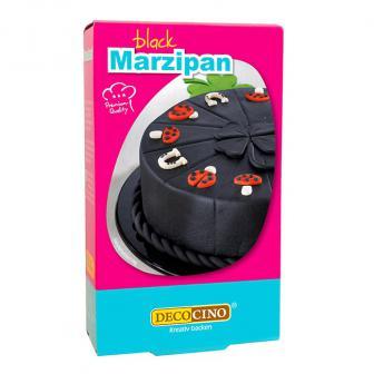 Dekor-Marzipan 200 g-schwarz