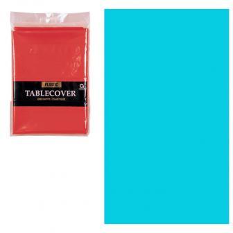Einfarbige Tischdecke 137 x 274 cm-türkis