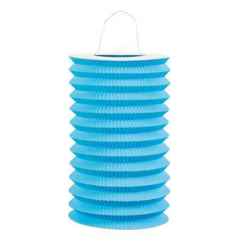 Einfarbige Laterne 16 cm -blau