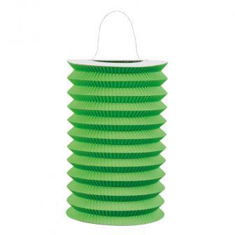 Einfarbige Laterne 16 cm -grün