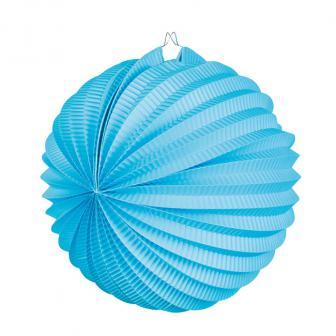 Einfarbiger Lampion 23 cm-blau
