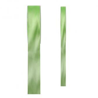 Einfarbiges Satin Deko-Band-grün-3 mm