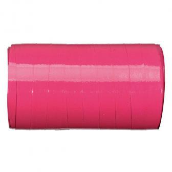 Einfarbiges glänzendes Geschenkband 50 m-pink