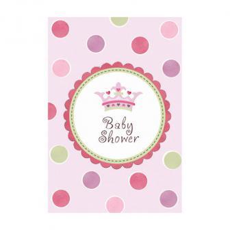 """Einladungskarten-Set """"Baby Shower Girl"""" 32-tlg."""