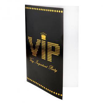 """Einladungskarten VIP """"Very important Party"""" 10er Pack"""
