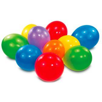 Farbenfrohe Luftballons 10er Pack