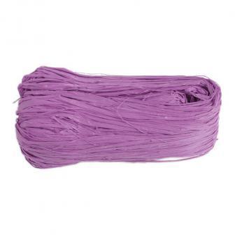 Farbiger Naturbast 50g-lila