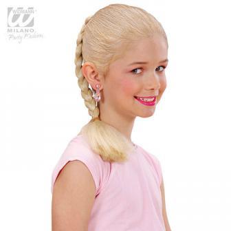 Flechtzopf Haar-Extension 40 cm-blond