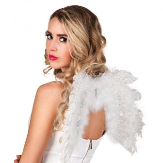 "Flügel ""Glamour"" 51 cm-weiß"
