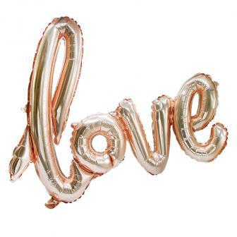 """Folienballon Schriftzug """"Love"""" 73 cm"""