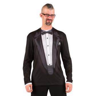 """Fotorealistisches Langarm-Shirt """"Schickes Jacket"""""""