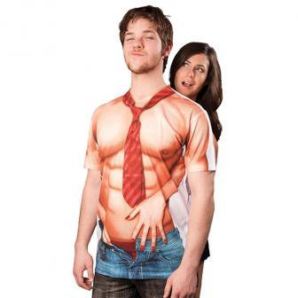 "Fotorealistisches Shirt ""Sexy Casanova"""