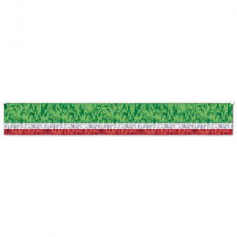 "Fransen-Girlande ""Mexiko-Italien-Flagge"" 3,05 m"
