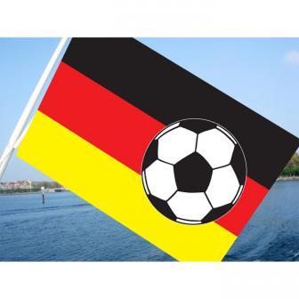 """Fahne """"Fußball Deutschland"""" 150 cm"""