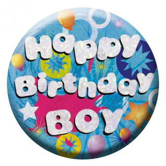 "Geburtstags-Button ""Birthday Boy"""