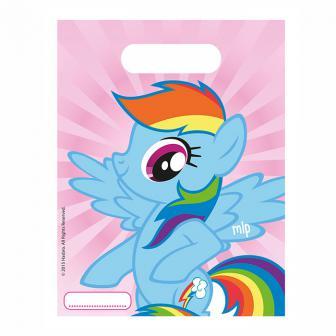 """Geschenk-Tütchen """"My little Pony - Freunde"""" 6er Pack"""