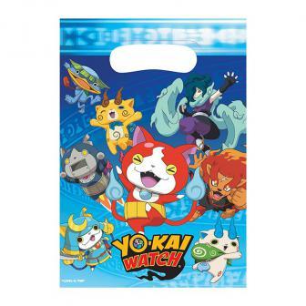 """Geschenk-Tütchen """"Yo-Kai Watch"""" 8er Pack"""
