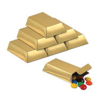 Geschenkbox Goldbarren 12er Pack