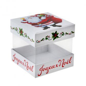 """Geschenkboxen """"Joyeux Noel"""" 4er Pack"""