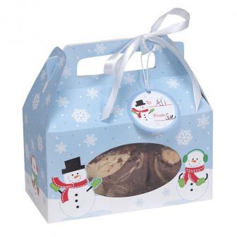 "Geschenkboxen ""Schneemänner"" 4er Pack"