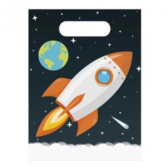 Geschenktütchen Abenteuer im Weltall 6er Pack