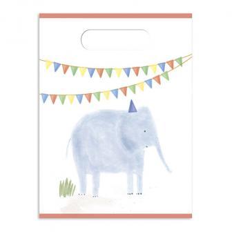 """Geschenktütchen """"Kleine Zoo-Parade"""" 6er Pack"""