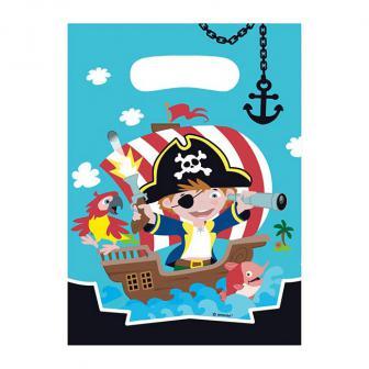 """Geschenktütchen """"Kleiner Seefahrer"""" 8er Pack"""
