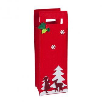 """Getränkefilztasche """"Schöne Weihnachten"""" 38 cm"""
