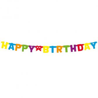 "Girlande ""Happy Birthday"" 140 cm"