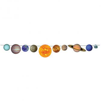 """Girlande """"Unser Sonnensystem"""" 2.44 m"""