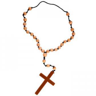 Gläubige Perlenkette mit Kreuz